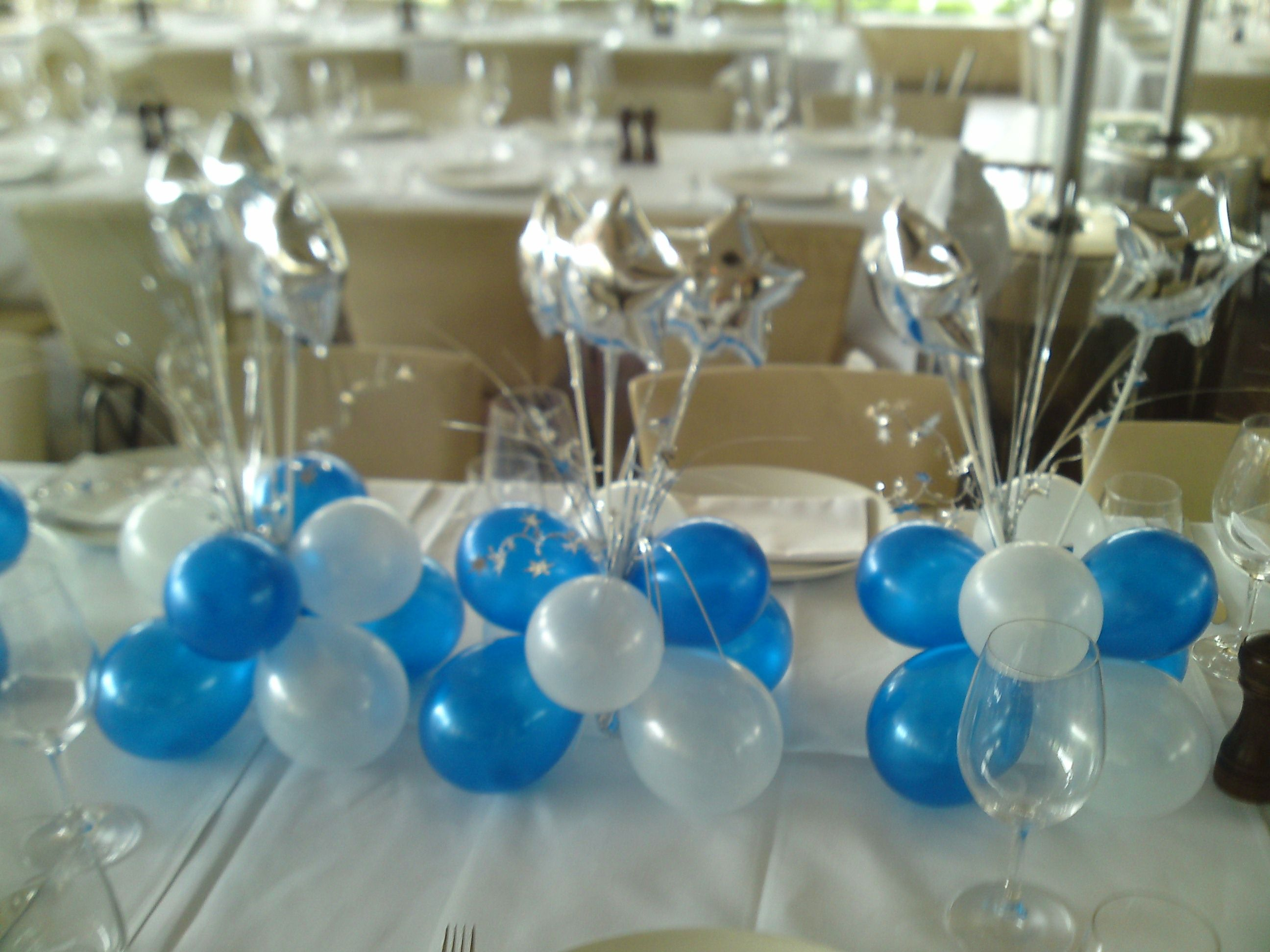 Classic Colours Sapphire Blue And White With Silver