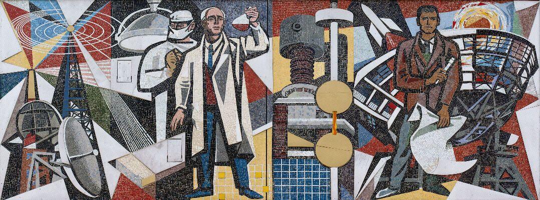 Mosaik Berlin nordöstliche mosaik am haus des lehrers in berlin andre bolten