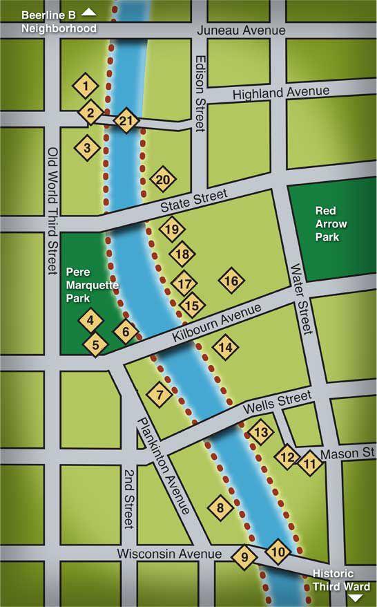 Riverwalk Microsite Milwaukee Riverwalk River Walk Visit Milwaukee