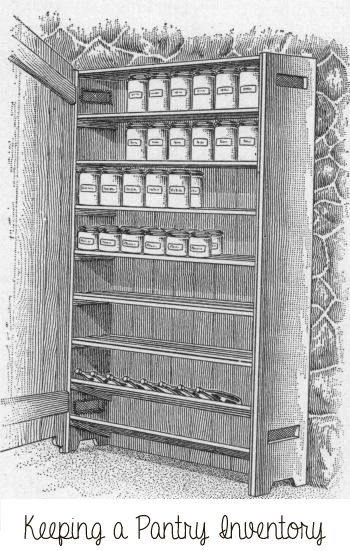 Tips for keeping a pantry inventory - smart! Via Homemakeru0027s - inventory stock list