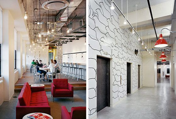 industrial modern office. First Pic: Draped Pendant BulbsPossible Classroom Solution Second Monorail · Design OfficesModern Industrial Modern Office A