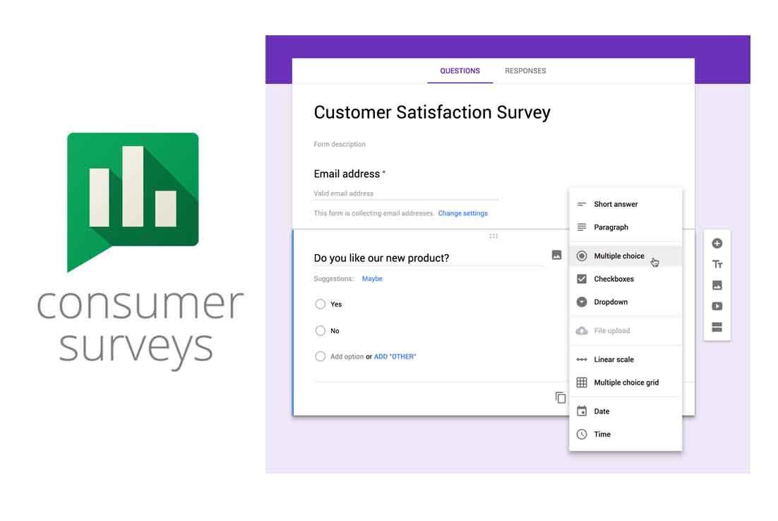 Google Survey Free Online Surveys With Google In 2020 Online