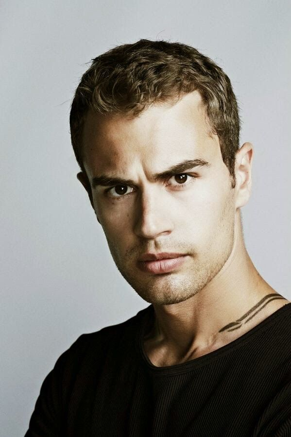 New DIVERGENT Still: Theo James as FOUR. Hotahotahotahotahotahotahotahot!
