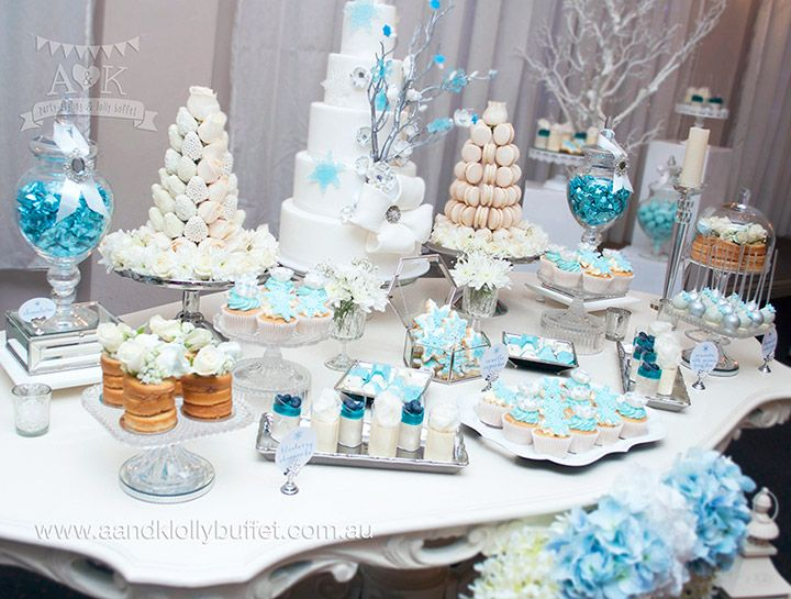 Winter Wonderland Dessert Table For Dimity Connie39s 21st