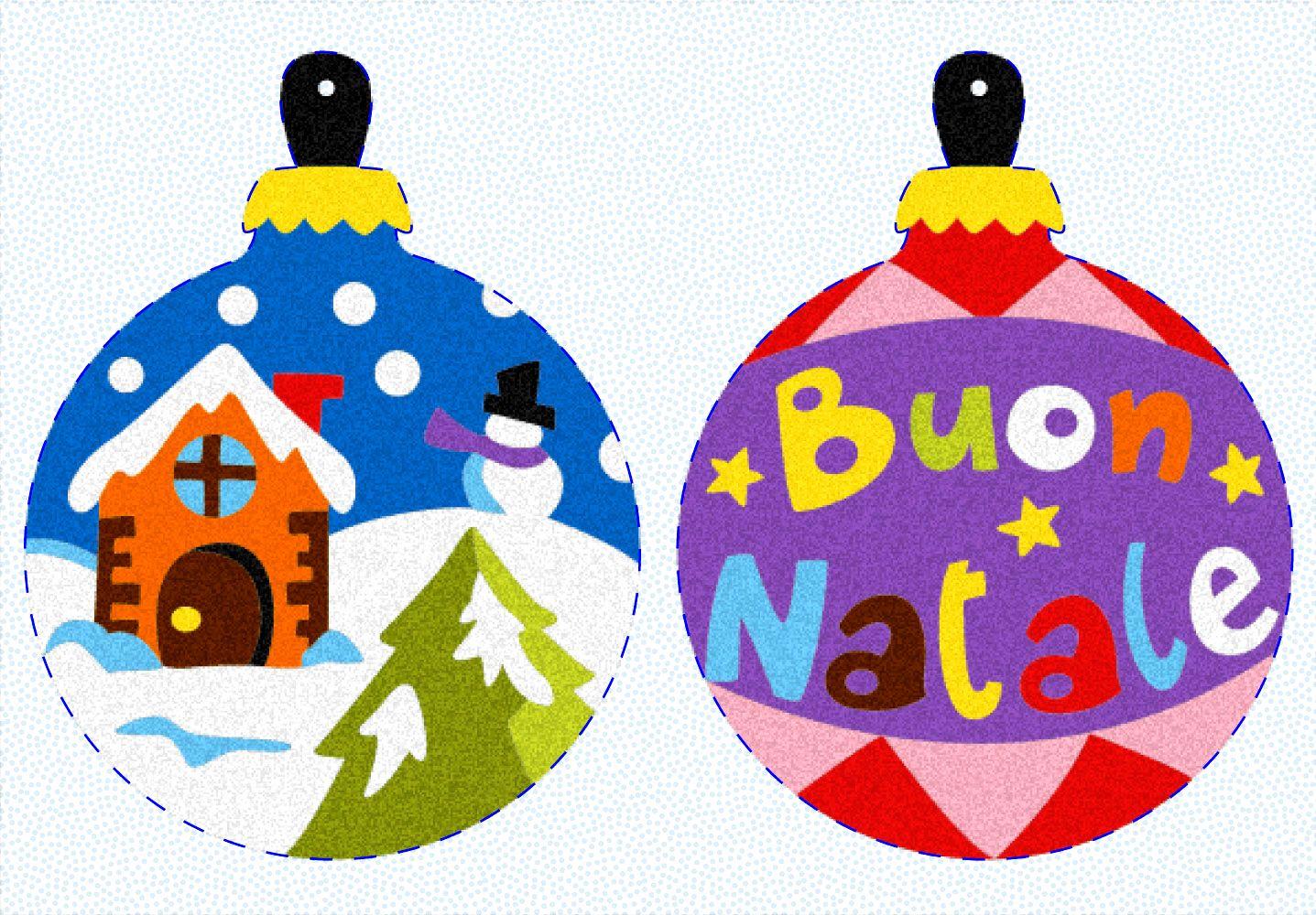 Album Gli Addobbi Di Natale Disegno Le Palline Disegni