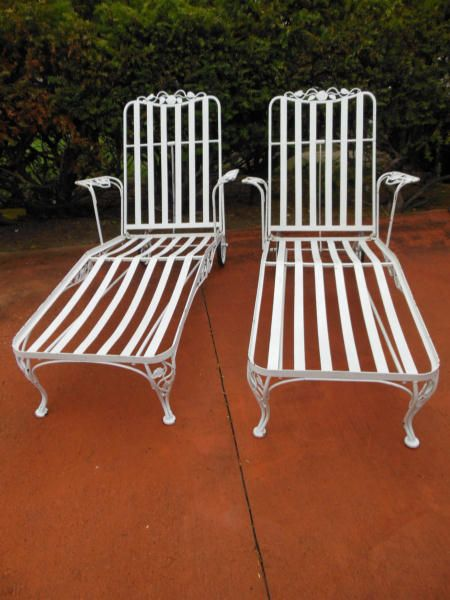 Chaises Woodard Chantilly Rose Sold So Close To Mine In