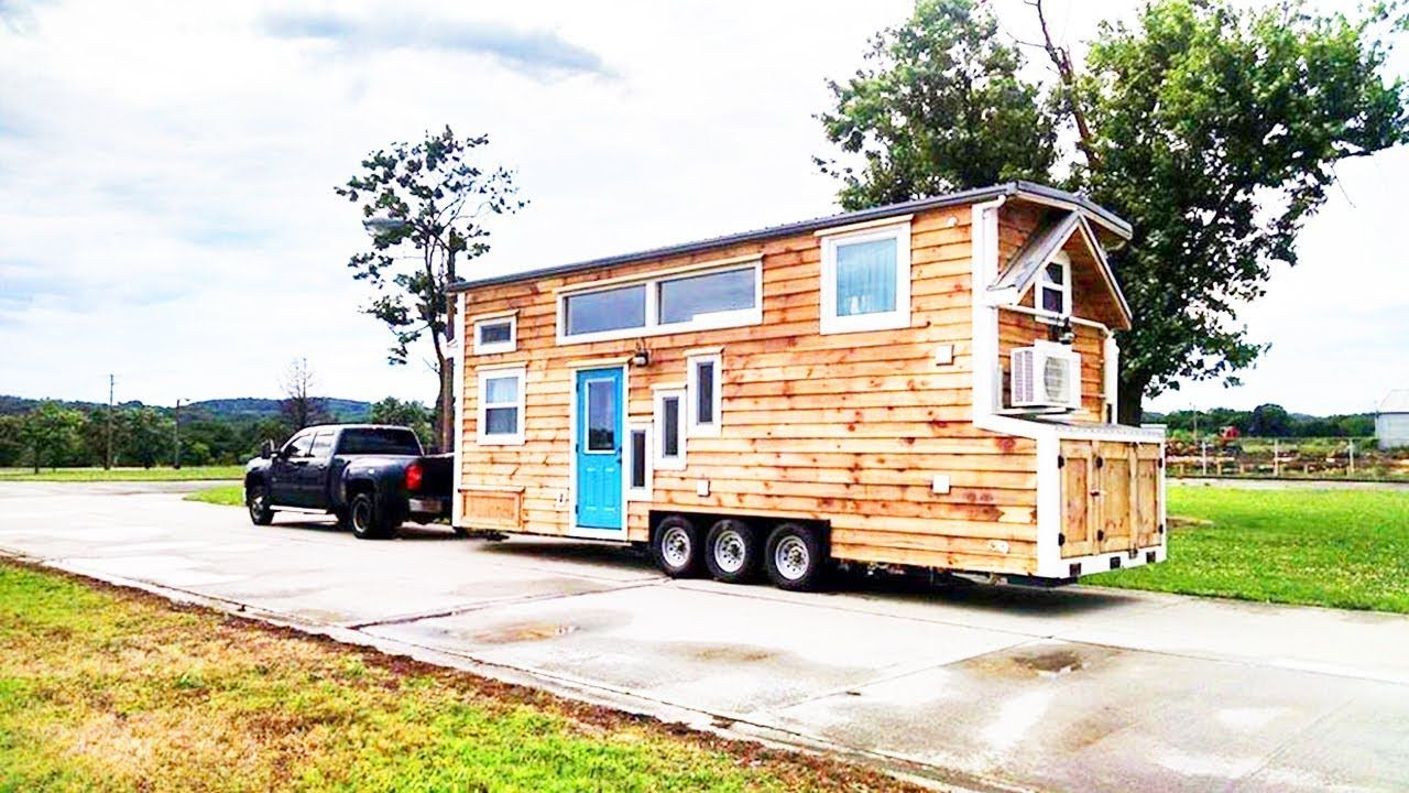 Incredible Stunning 28 Foot Dandelion Tiny House Built By