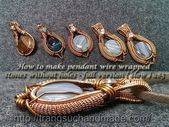 Photo of How to make pendant wire wrapped stones without holes – full version ( slow ) 28…