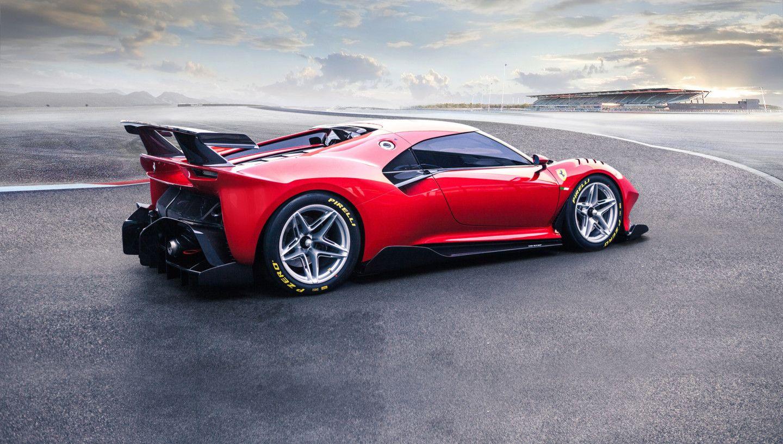 Discovering the new Ferrari P80/C