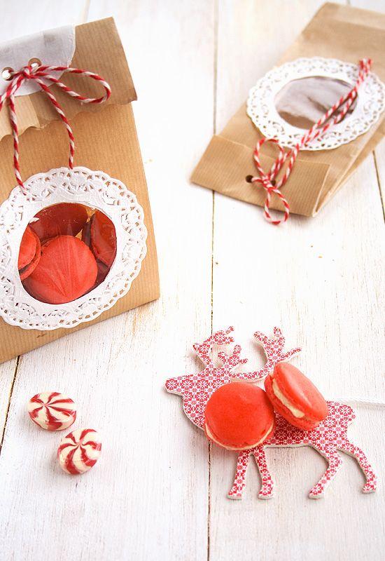 Regalos navideños VI: Macarons de Navidad | navidad | Pinterest ...