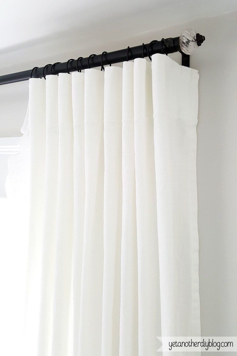 Syrlig curtain ring with clip and hook ikea you can hang your curtains - Make Your Own Super Simple And Diy Curtain Rings From