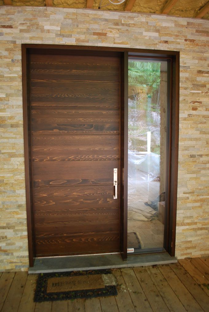 Image Result For Modern Wood Front Doors Lasso Trail Pinterest