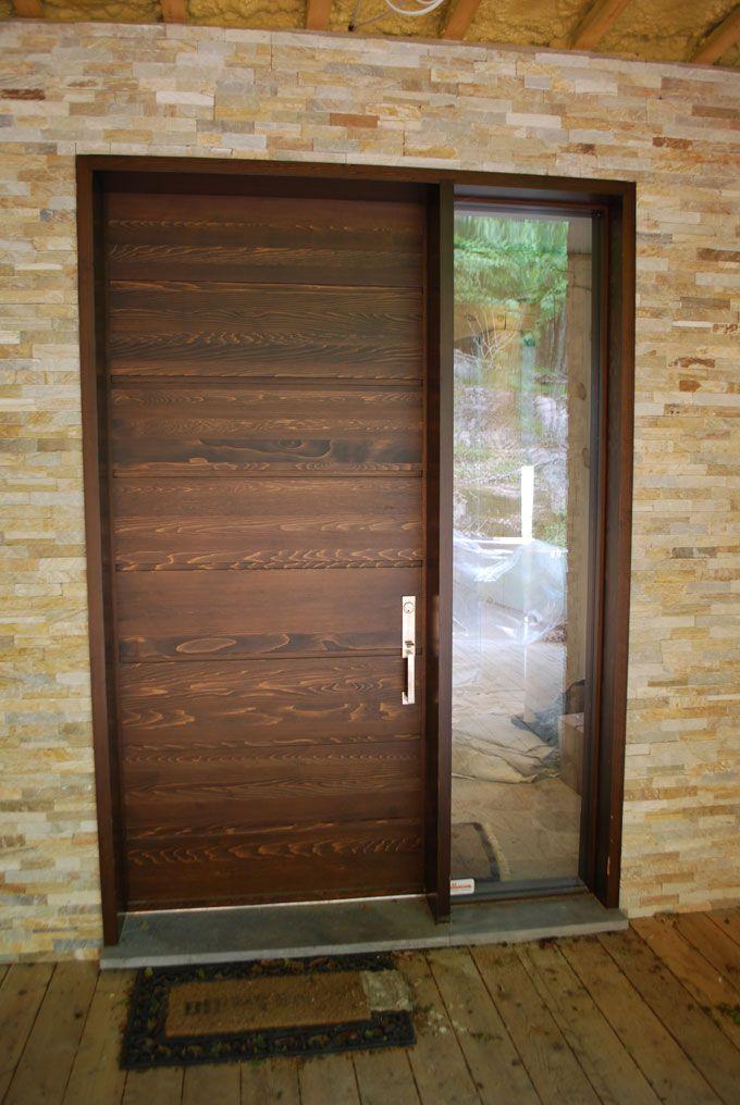 Wood front doors - Portes d\u0027entrée en bois - wwwPortesBourassa - amenager une entree de maison