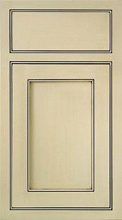 Saugatuck: A beaded inset door, the Saugatuck has a ...