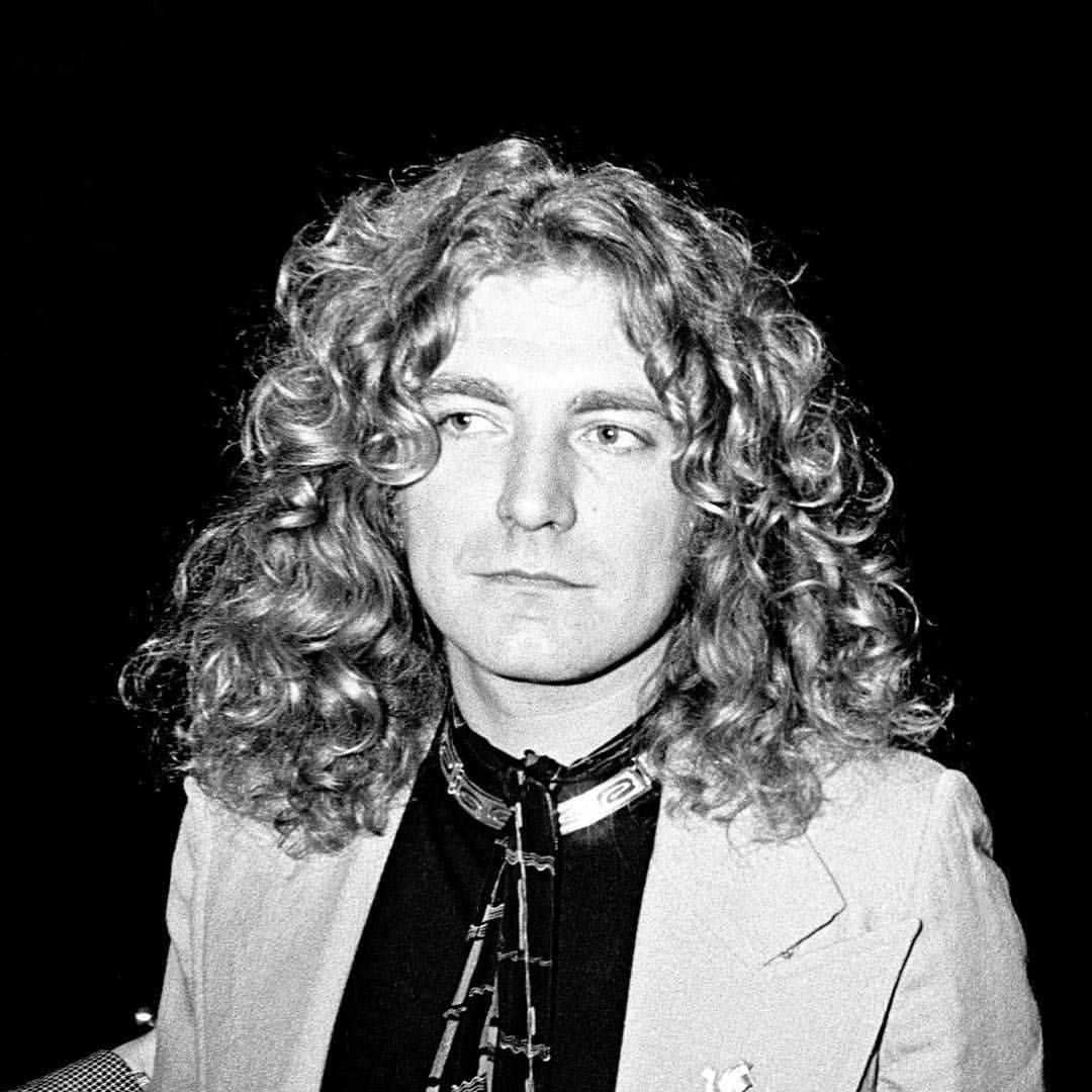 Music was really good today we talked about the erlking - - (image description: Robert plant in a suit) #ledzeppelin #robertplant #classicrock #robertplant