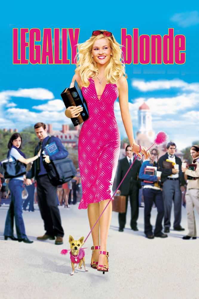 Legally Blonde Movie Poster - Reese Witherspoon, Luke Wilson ...