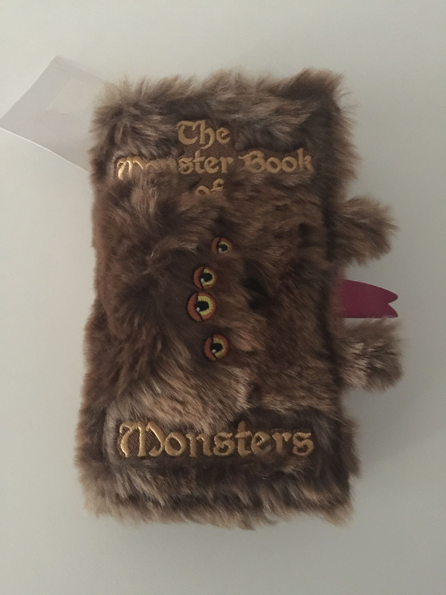 Universal Studios the Monster Book of Monsters iPhone 6/7