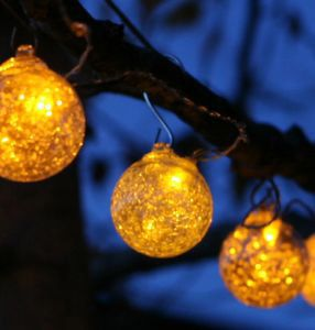Summer tree lights google search lights pinterest garden lights aurora glow glass solar string lights amber by allsop aloadofball Images