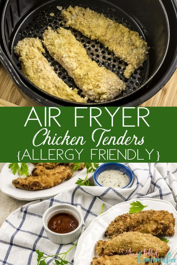 Air Fryer Chicken Tenders (Allergy Friendly) Recipe