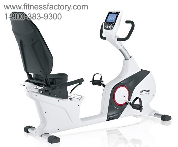 The All New Kettler Re 7 Recumbent Exercise Bike Distinguishes