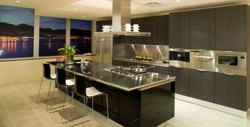 Diseno De Cocinas Pequenas Modernas Decoracion De Cocina Moderna Diseno Cocinas Modernas Cocinas Modernas Grandes