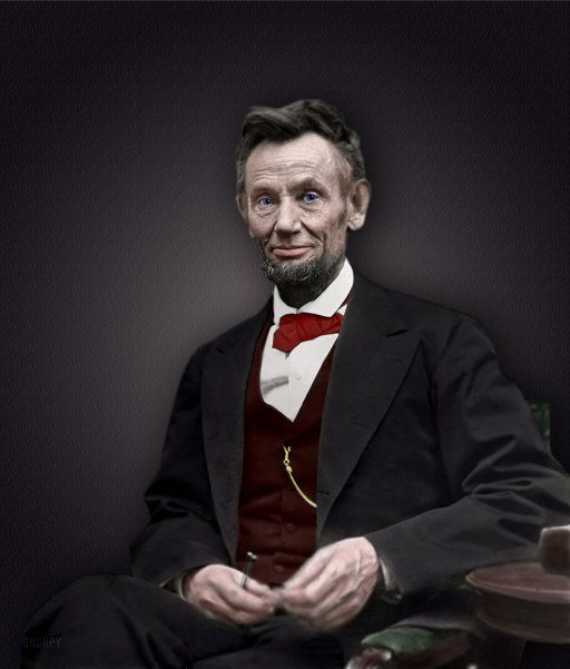 Abraham Lincoln (Colorized)