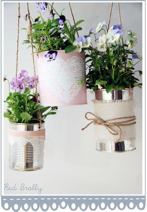 como decorar latas para macetas - buscar con google | maceteros