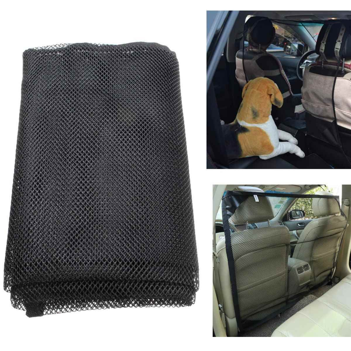 Dog Car Net Barrier to Keep The dog in Back Seat Cat