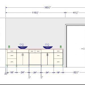 Beautiful Standard Height For A Bathroom Vanity Light