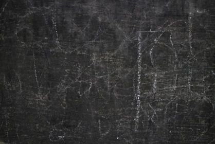 Black Grungy Scrawled Wall Texture Outside Paint Frame Old