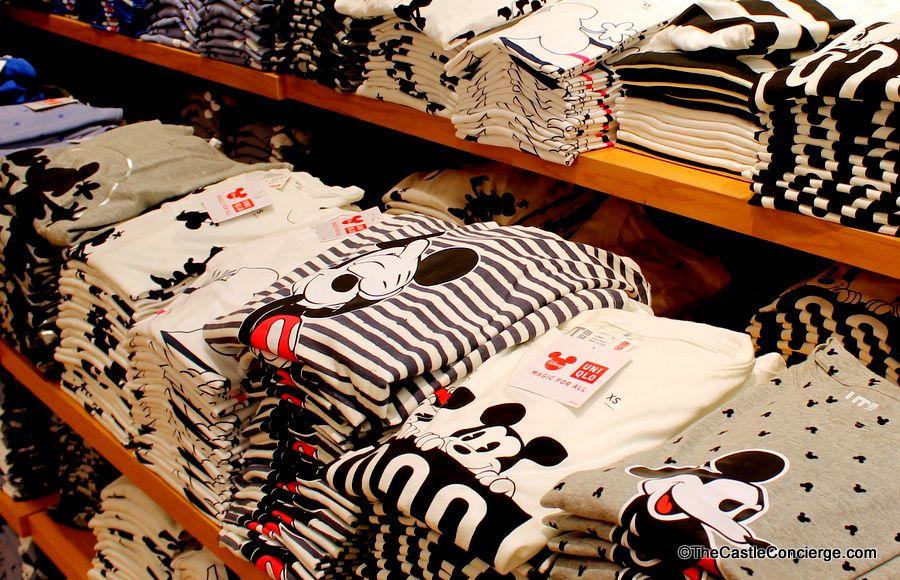 UNIQLO Tshirts Disney Springs