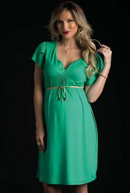 aa30daf95768 Na gravidez é importante usar roupas confortáveis que deixem as futuras  mães a vontade para aproveitar os nove meses de gestação. Uma peça que  sempre ganha ...