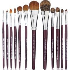 Makeup Brush Set: 12 Piece Classic Pro