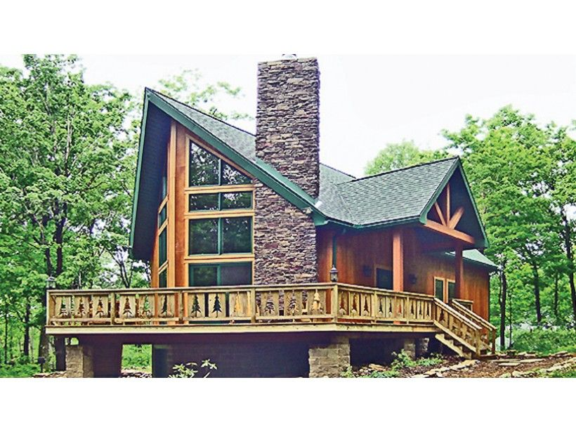 2 story, 1676 square foot, ready-to-build house plan from BuilderHousePlans.com