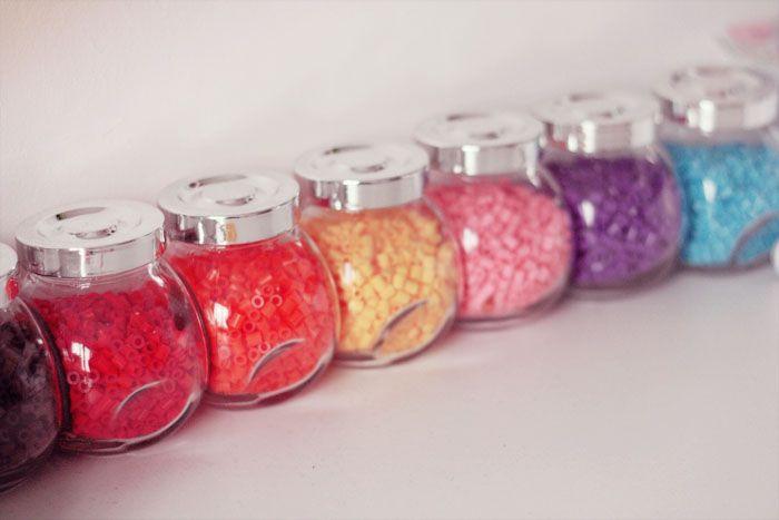 rangement perles hama