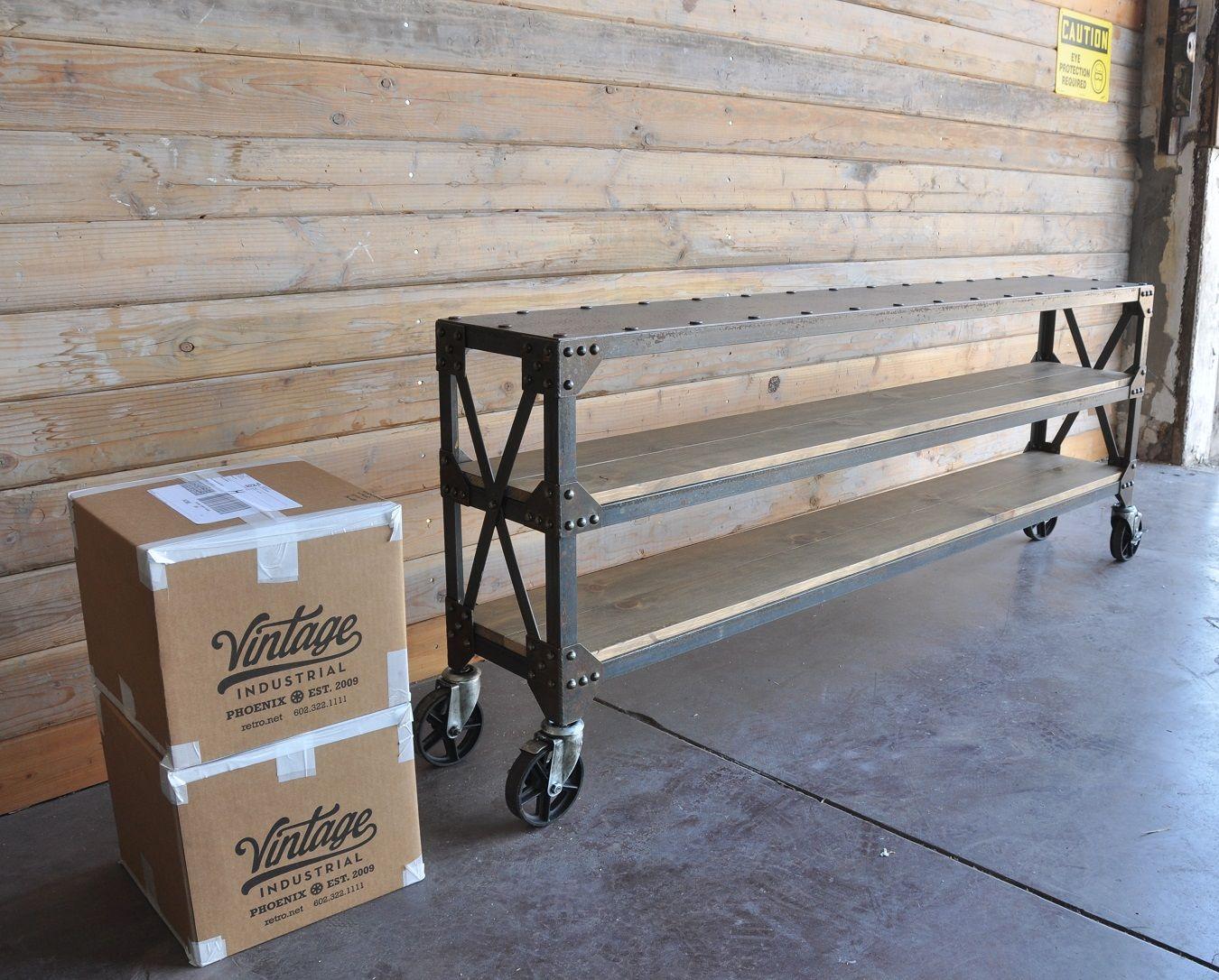 lattice work ellis console muebles industriales On muebles industriales metal baratos