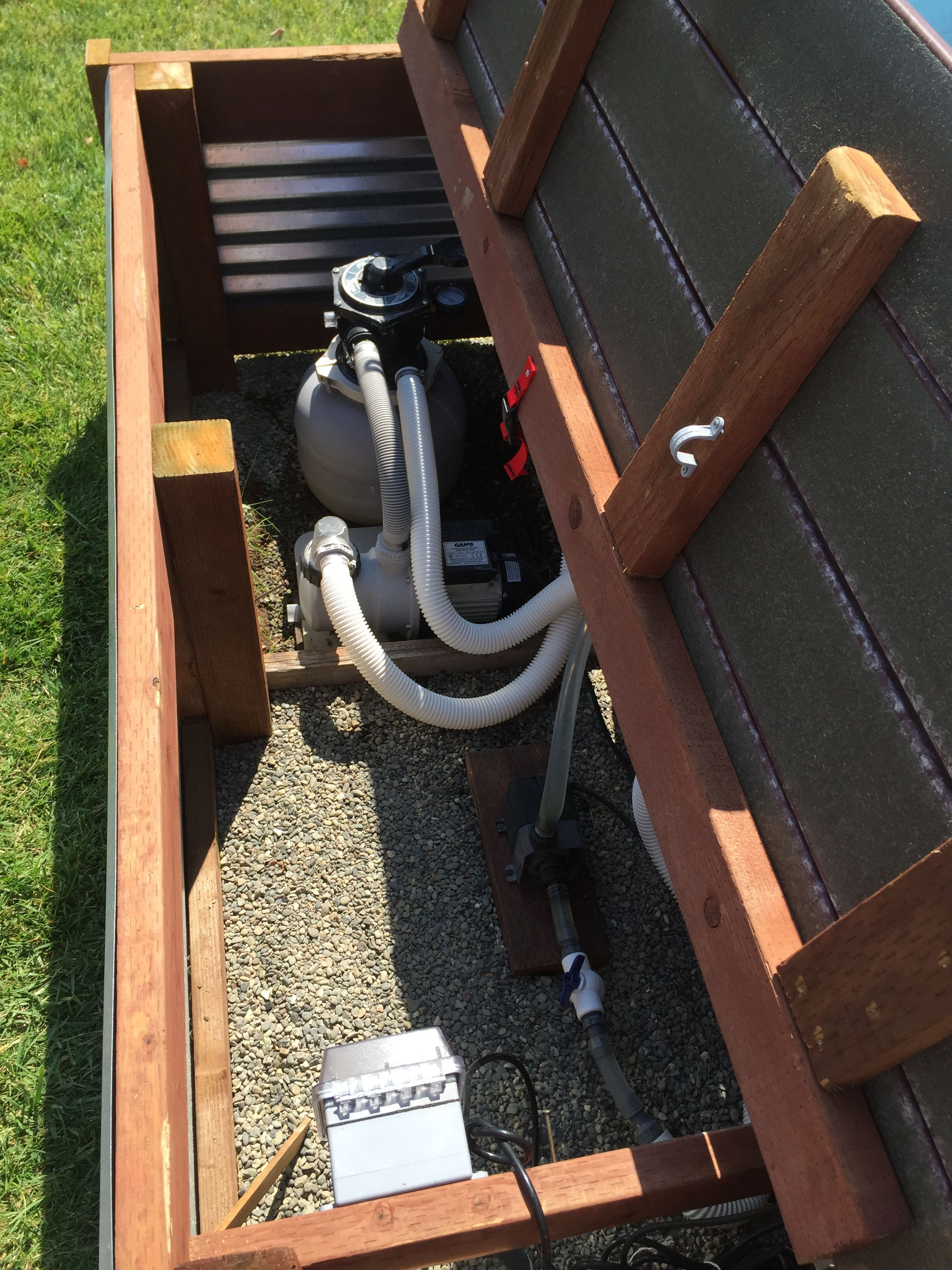 Stock tank pool filter and fountain pump | Stock Tank Pool ...