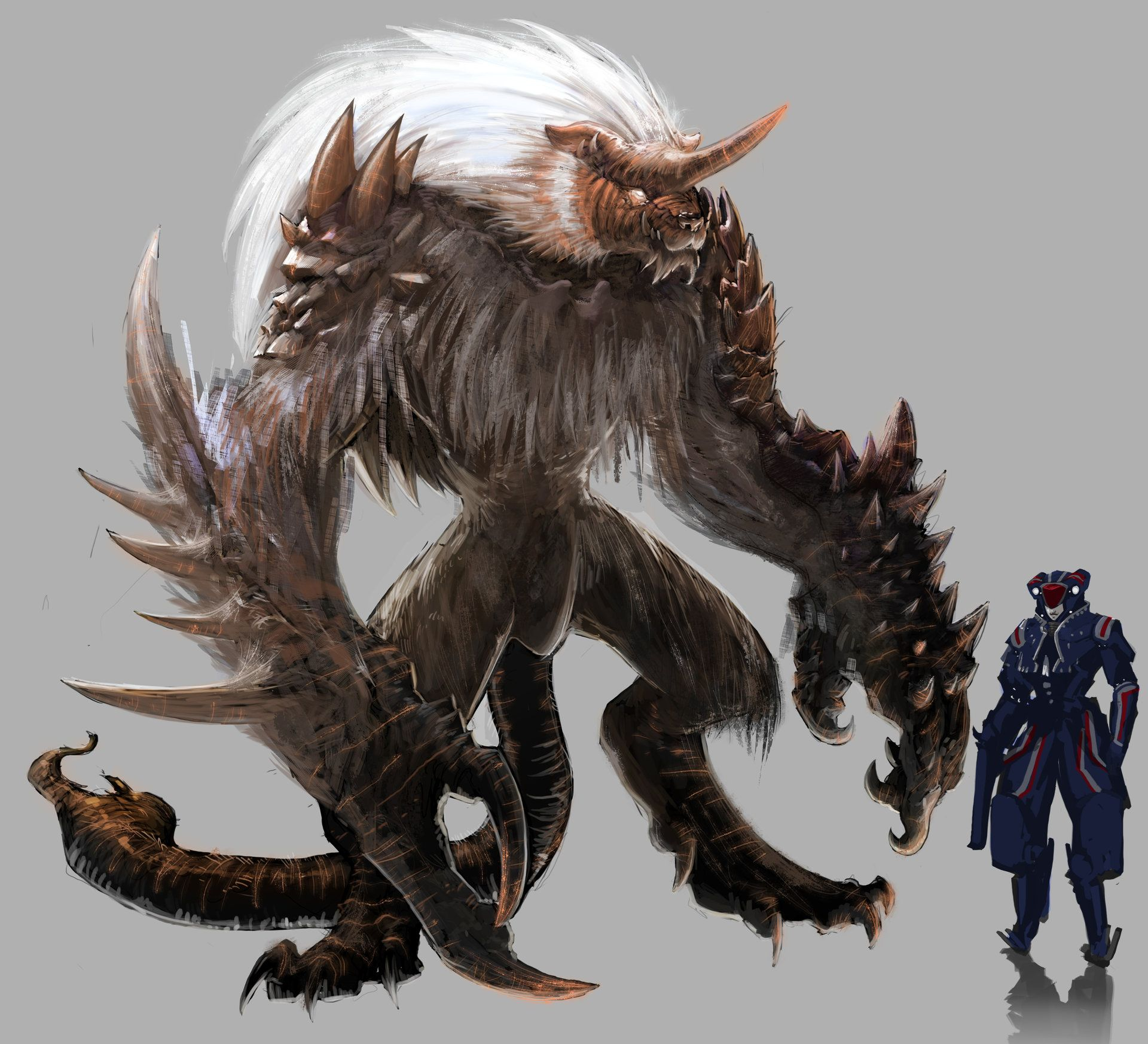 10++ Beast races ideas in 2021