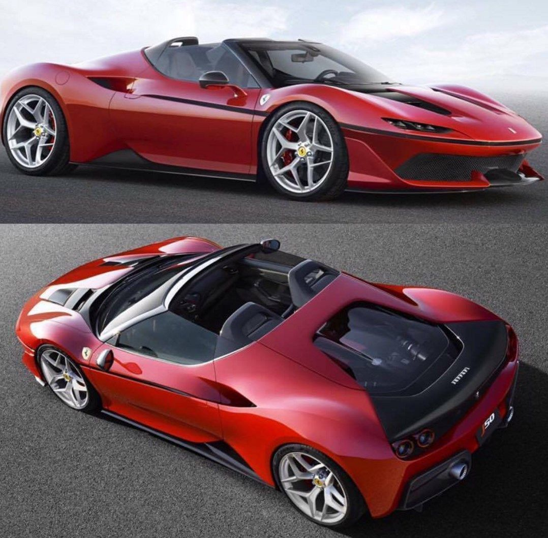 In December 2016, Ferrari Released This Stunning J50 To