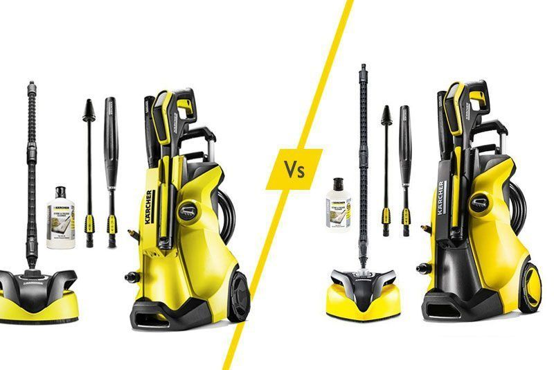 Karcher Pressure Washers K4 Vs K5 What Is The Difference Pressure Washer Pressure Washer