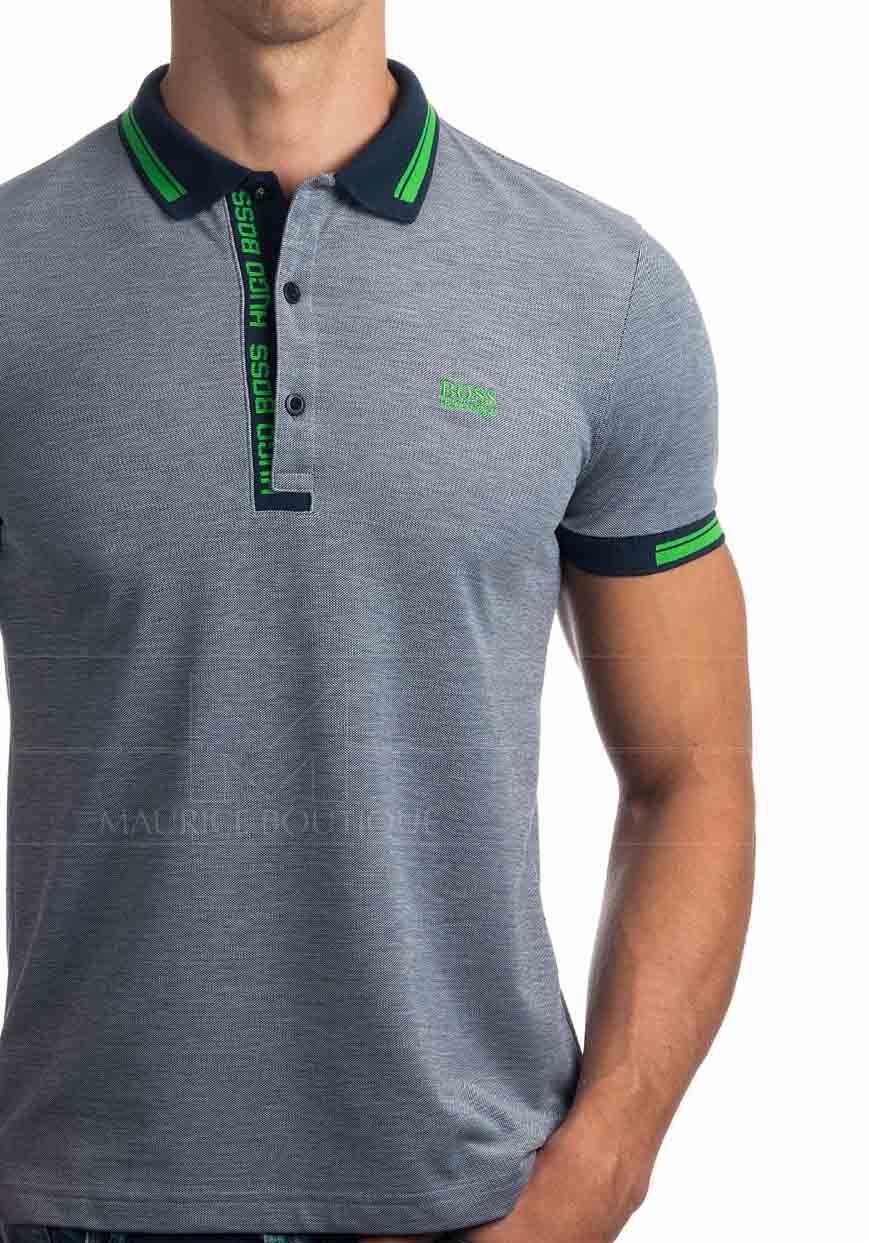 5ec4933e524 Polos Hugo Boss - Paule Azul Marino | Shirt idea en 2019 | Hugo boss ...
