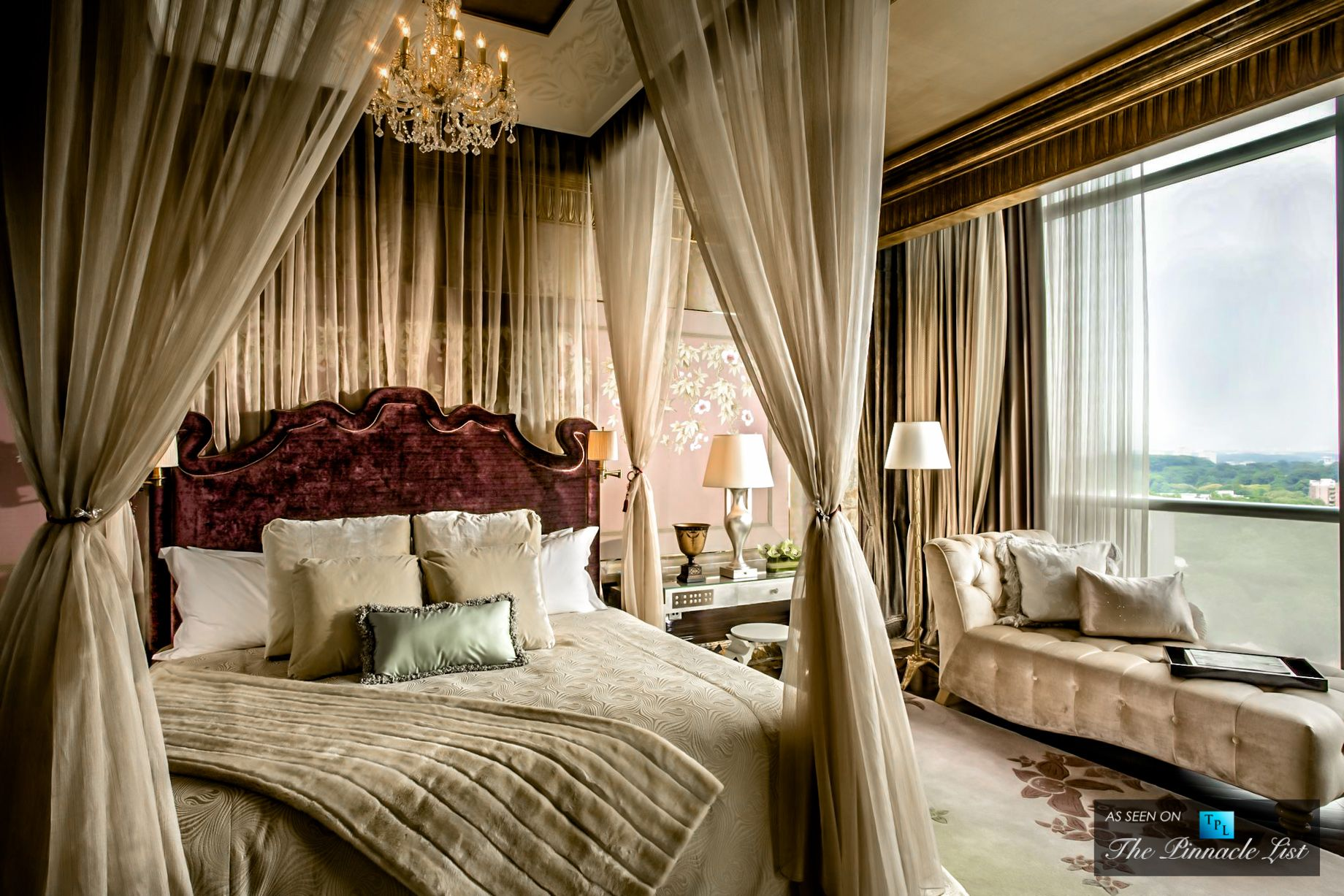 st. regis luxury hotel – singapore – presidential suite bedroom