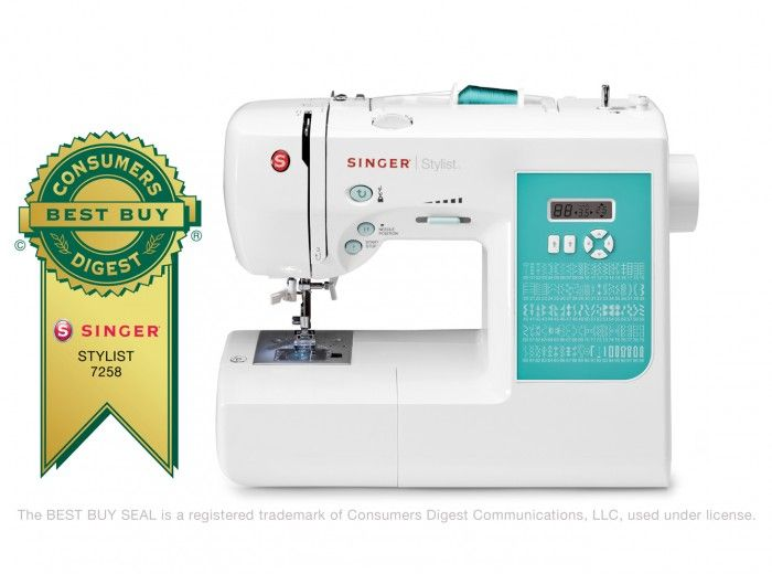 40 STYLIST™ OfficeStudy Sewing Sewing Machine Reviews Stitch Simple Singer Stylist 7258 Sewing Machine Reviews
