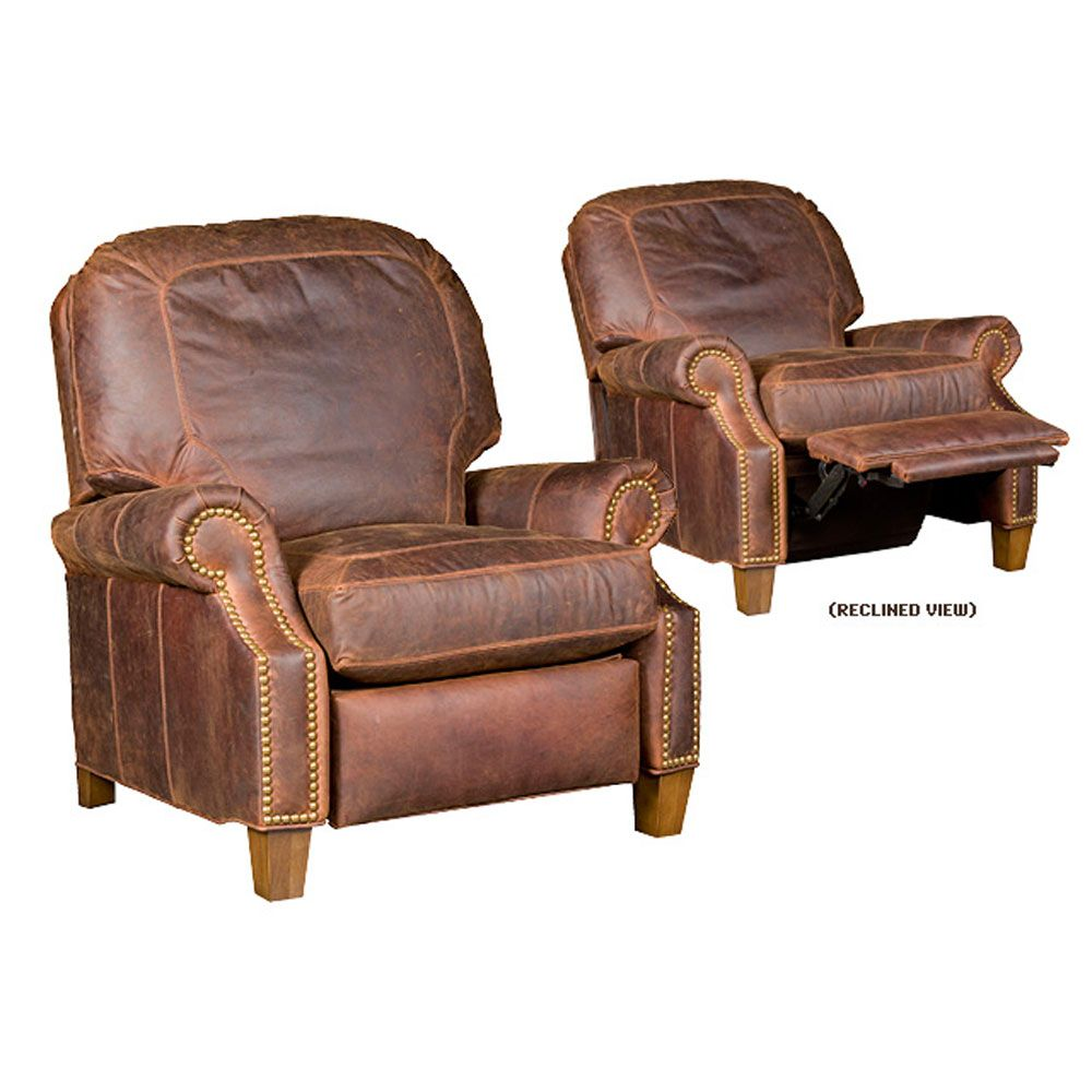 King Hickory Jefferson Recliner Kh 0137 R L Louie S Man Cave  # Muebles Hickory