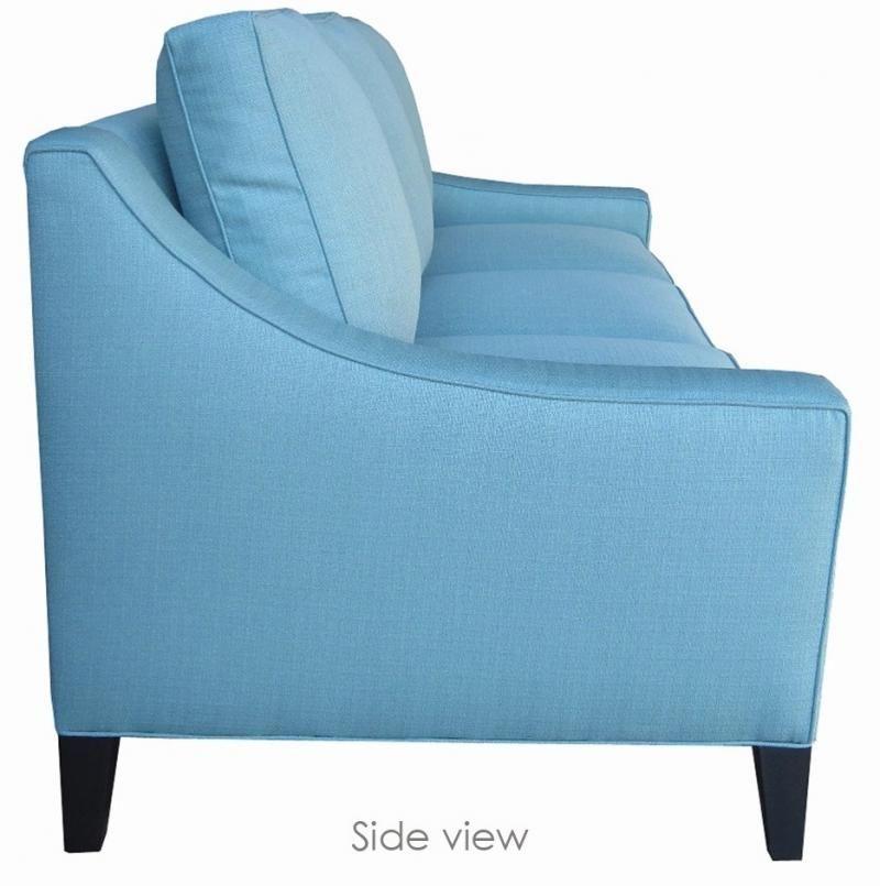 blue sofa chaise lounge chair