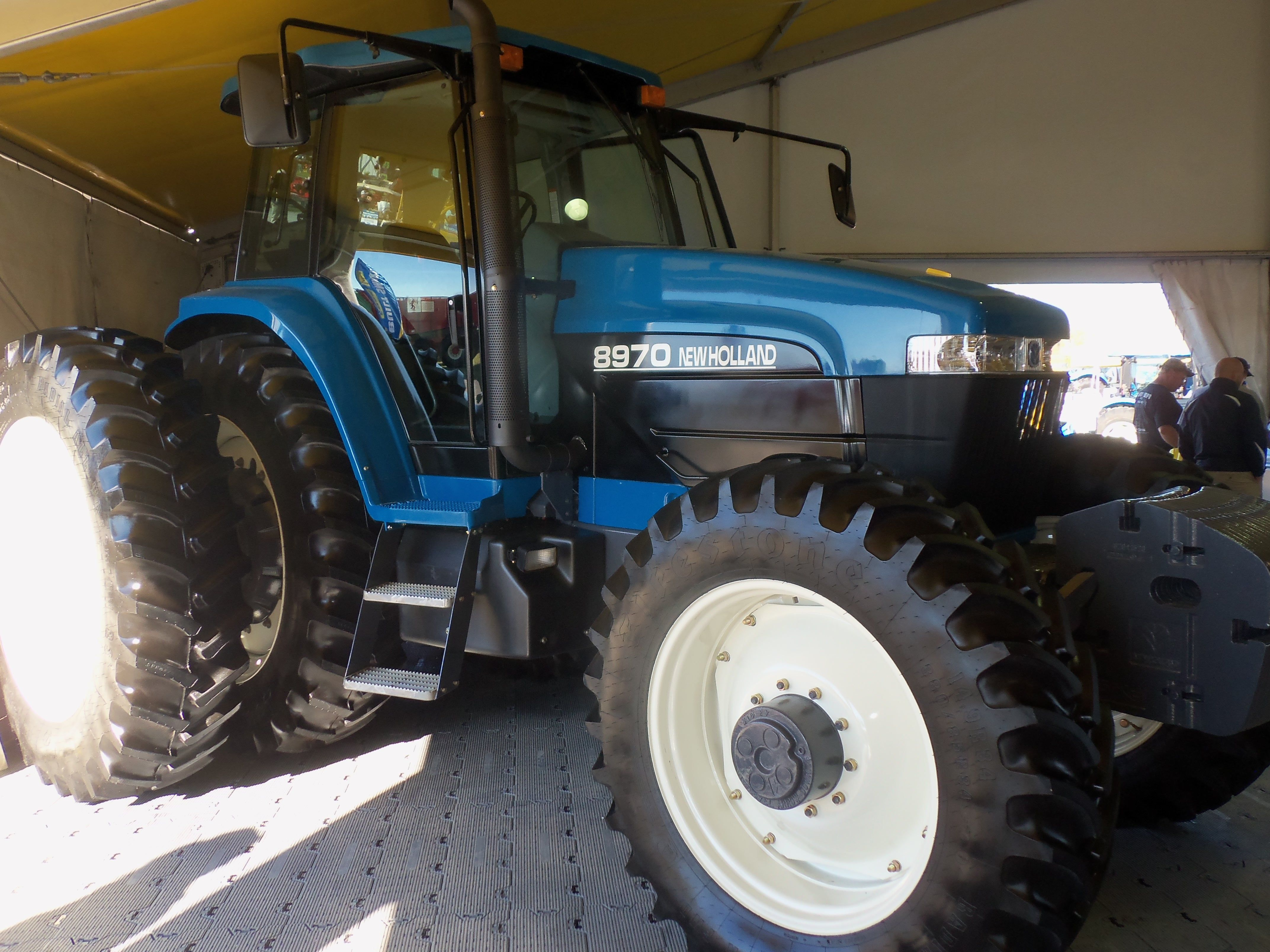 From 20 Years Ago Is This 210 Hp Ford New Holland Genesis 8970 In