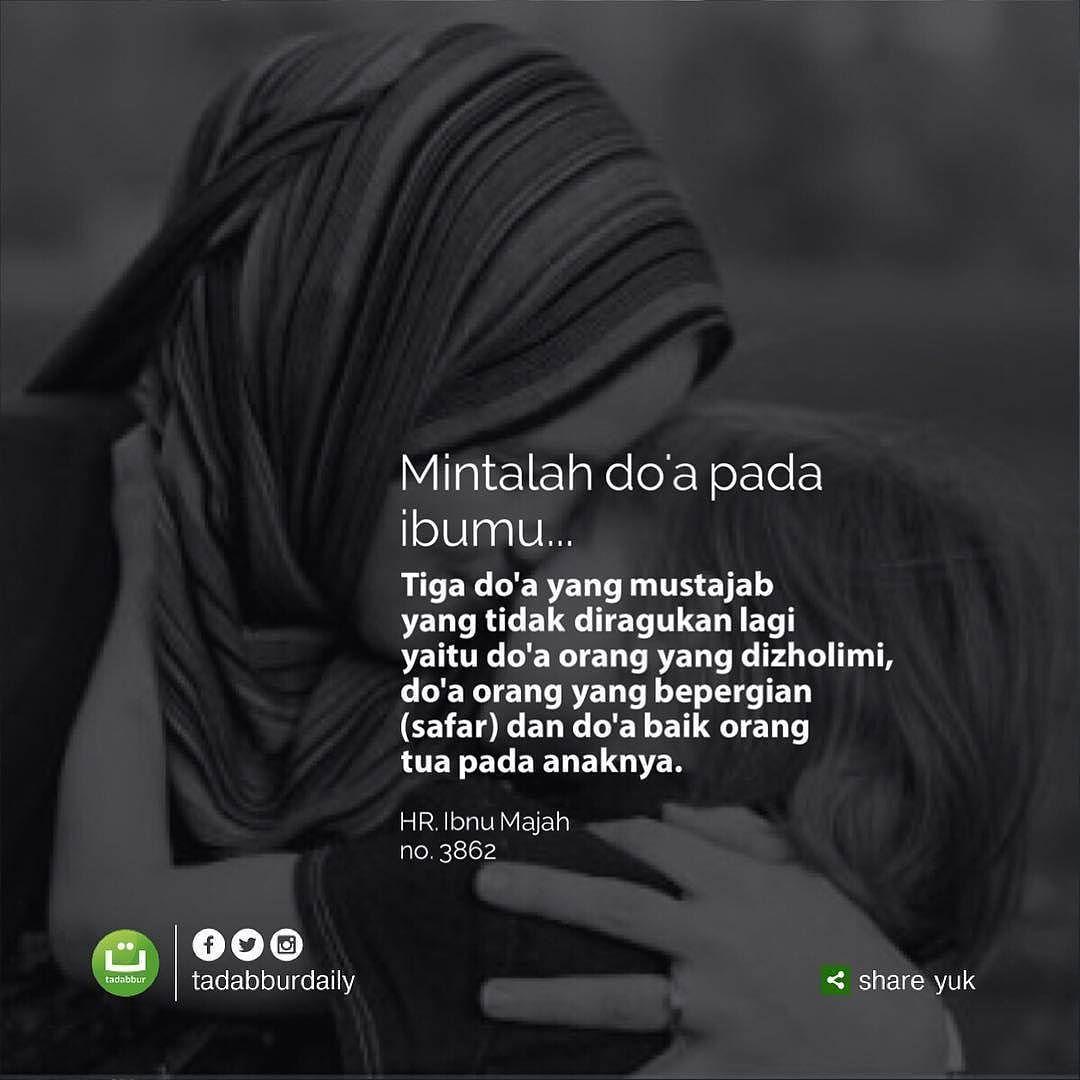 Jangan Kau Kira Do A Seorang Ibu Itu Biasa Biasa Saja Perlu Kau