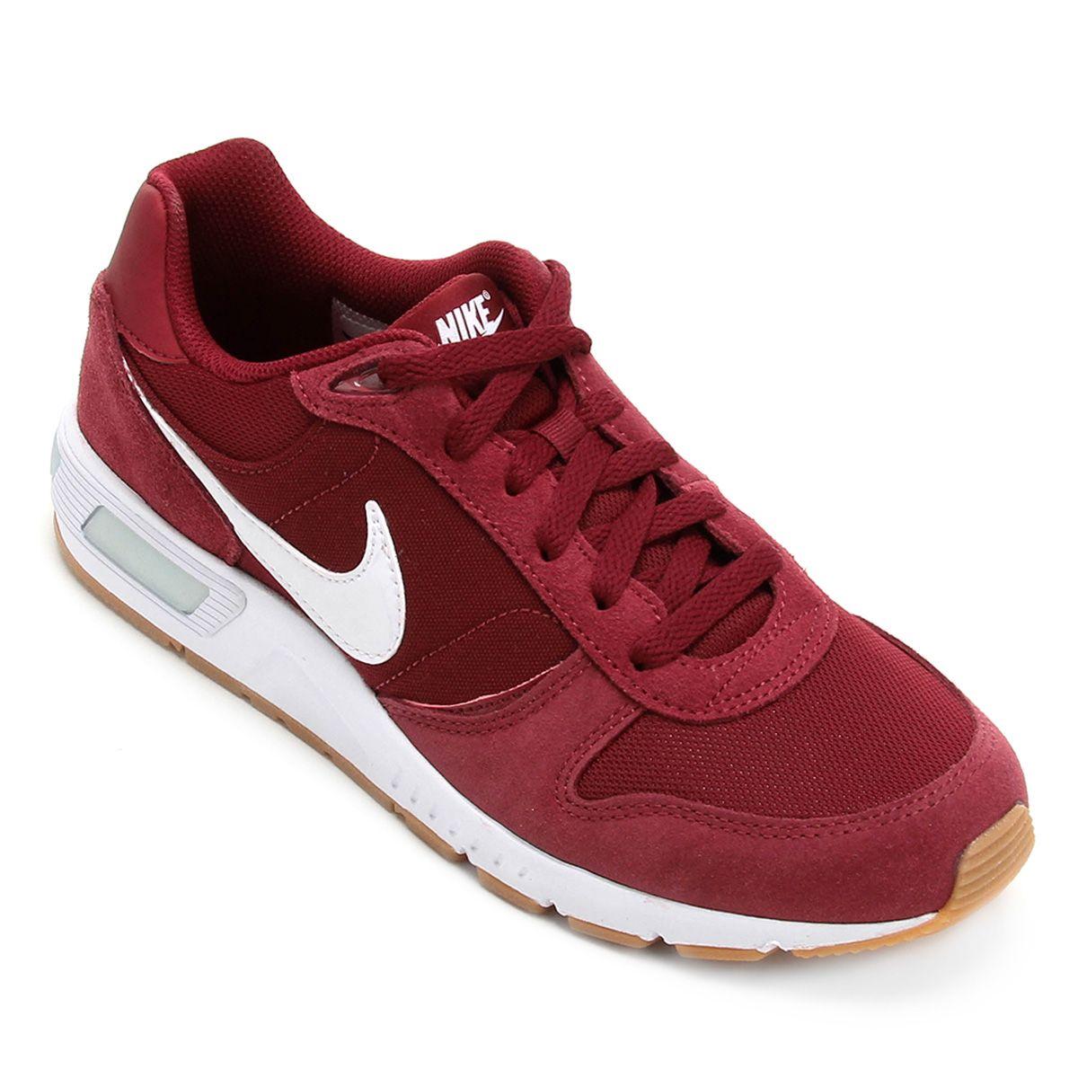 Tenis Nike Nightgazer Masculino Vermelho E Branco Tenis Nike