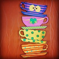 Hey, I found this really awesome Etsy listing at https://www.etsy.com/listing/229200102/alice-in-wonderland-party-teacup-wall