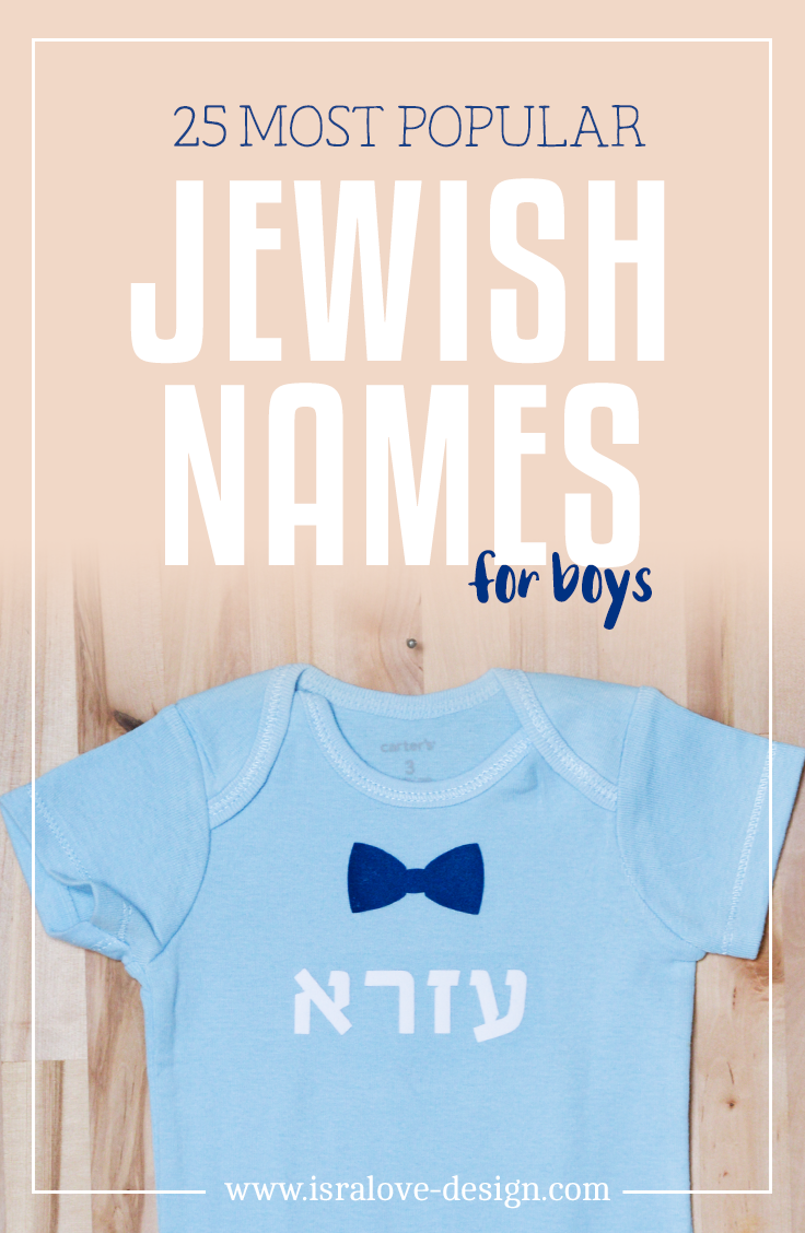 Jewish Names For Boys Most Popular Jewish Gifts Brit